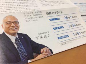 土木管理総合試験所、株価